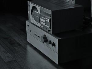 Wspaniały zestaw Hitachi: odtwarzacz i wzmacniacz  (fot. Nomos)