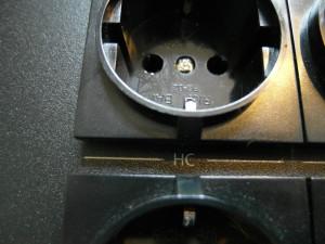 Symbolem HC oznaczono gniazda dla wzmacniacza lub końcówki mocy  (fot. wstereo.pl)