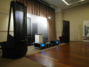Elektrostaty Martin Logan Neolith - najnowsze dzieło słynnej głośnikowej firmy  (fot. wstereo.pl)