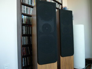 Audio Academy Hyperion IV w maskownicach  (fot. wstereo.pl)