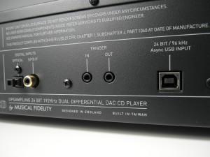 Świetna funkcjonalność. Odtwarzacz Musicala ma trzy rodzaje wejść cyfrowych i jest udanym DAC (fot. wstereo)