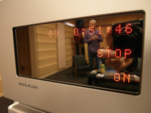 Drugie źródło testu -  odtwarzacz Soulution 746 (fot. wstereo.pl)
