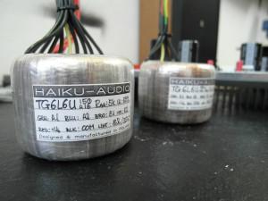 Haiku Audio sam projektuje i robi transformatory toroidalne (fot. wstereo.pl)