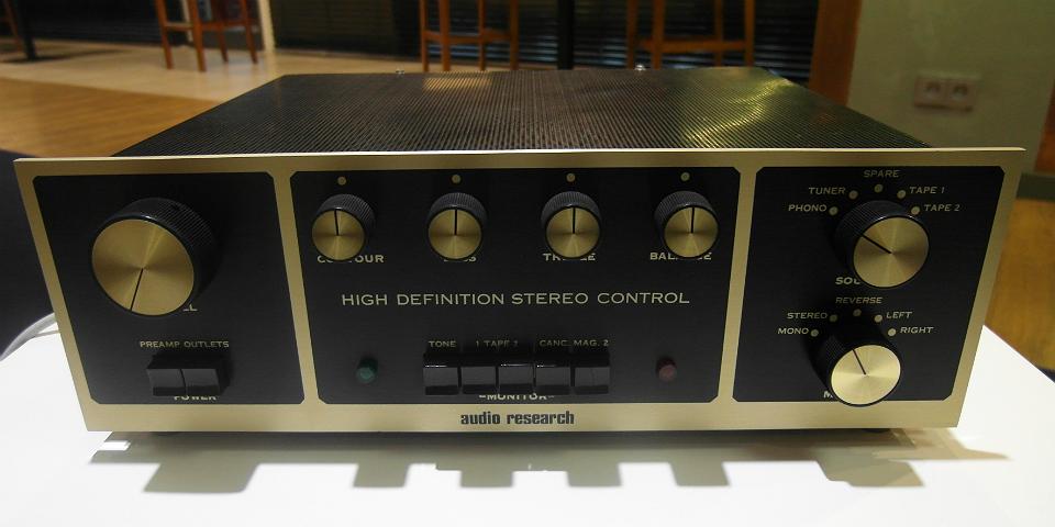Kącik starocie od Horn - pre Audio Research
