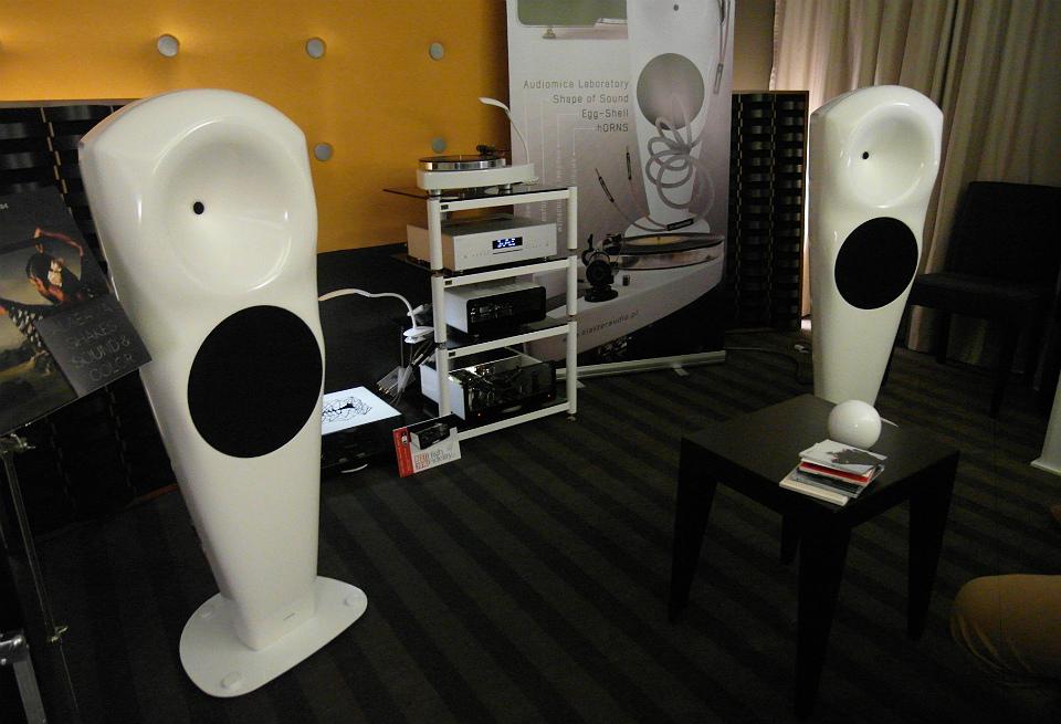 W pokoju Polskiego Klastra Audio dźwięk był naprawdę wysokiej próby