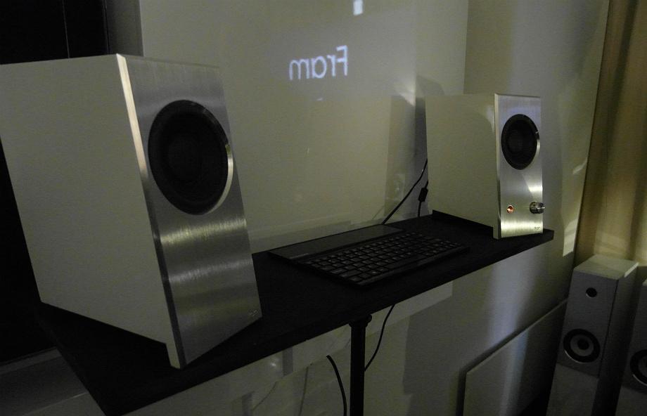 Krakowski Ancient Audio zaprezentował aktywny system biurkowy