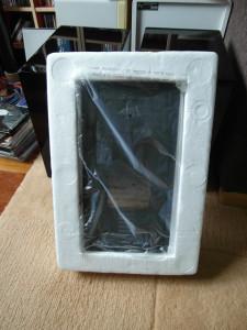 Maskownice na czas transportu umieszczono w styropianowych panelach ochronnych