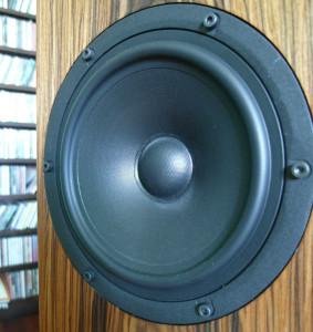 Za średnicę i tony niskie odpowiada głośnik tej samej firmy