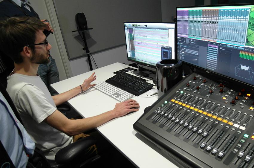 Pokaz miksowania w systemie Dolby Atmos