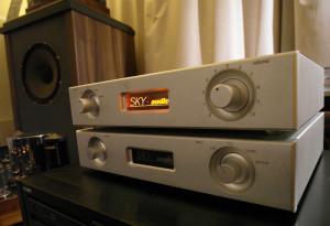 Audio Video Show 2107. Sky Audio - preamp