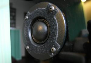 Głośnik wysokotonowy to własna konstrukcja Tomasza Kursy
