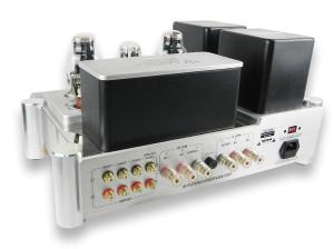 Test Yaqin MS-300C. Tak się prezentuje tył wzmacniacza