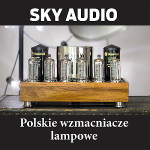 Sky Audio baner Kwadrat czarne
