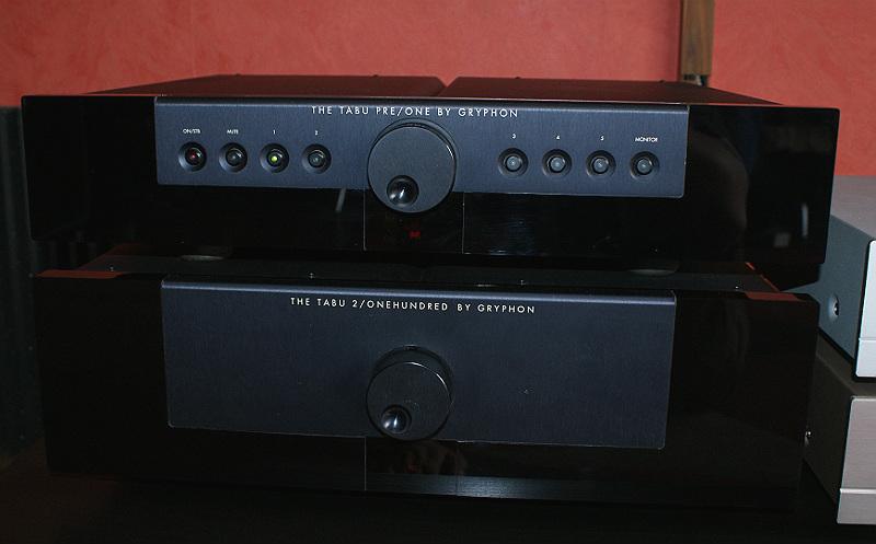 Gryphon Tabu pre power 2