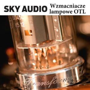 Sky Audio baner Kwadrat biale