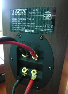 Podwójne terminale głośnikowe