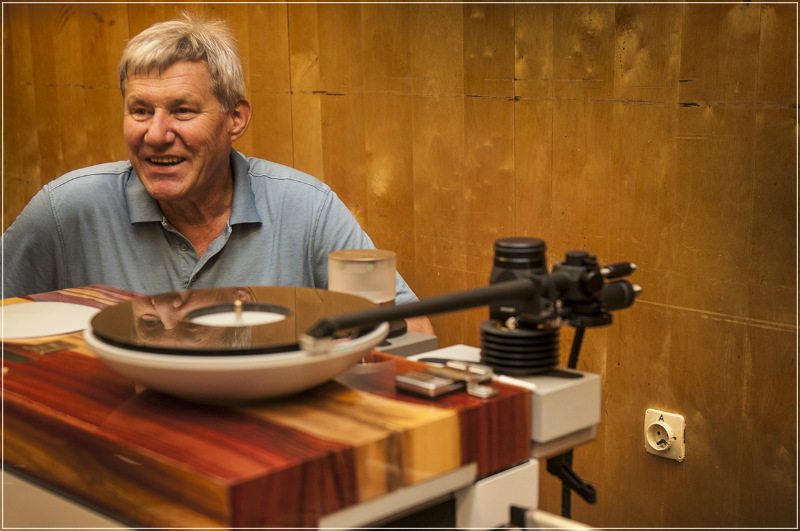 Wojciech Samołyk - konstruktor gramofonu Tentogra
