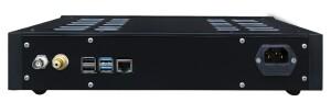 Lucarto Audio Ferro DSD Stream Player - test. Tylny panel uporządkowany (fot. Lucarto Audio)