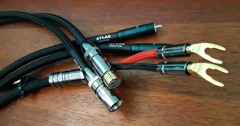 Atlas Mavros - test. Kable są estetyczne i dobrze wykonane (fot. wstereo.pl)