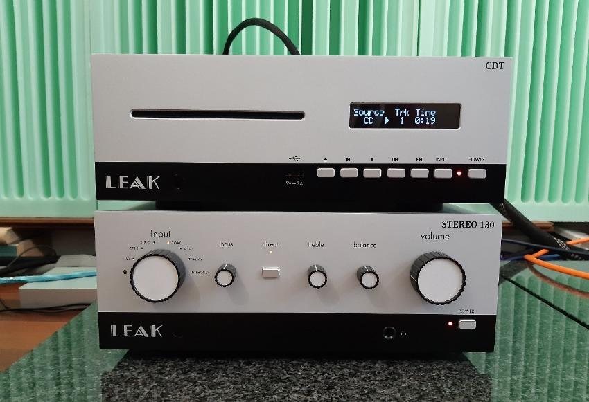 Leak Stereo 130 / Leak CDT - test.. Zestaw prezentuję się świetnie (fot. wstereo.pl)