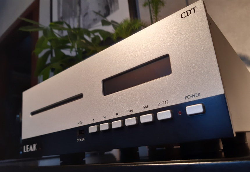 Leak Stereo 130 / Leak CDT - test. Szczelinowy napęd w transporcie pracuje bezszelestnie (fot. wstereo.pl)
