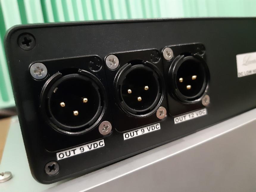 Lucarto Audio ULPS test. Złącz XLR mocno i pewnie trzymają kable (fot. wstereo.p)