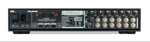 Naim Supernait 3 - test. Z tyłu naimowska klasyka, czyli złącza DIN i gniazda głośnikowy na banany (fot. Naim)