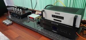 """Haiku-Audio Selene 6550 A RC – test. Wzmacniacz testowaliśmy z DAC-ami """"karmionymi"""" streamingiem (fot. wstereo.pl)"""