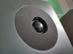 Davis Acoustics Krypton 6 - test. Miękką kopułkę otacza pierścień (fot. wstereo.pl)